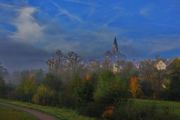 Morgennebel, Foto: Dieter Neumann