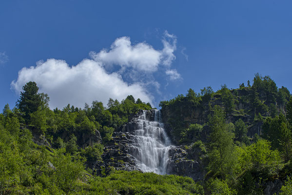 Wasserfall; Foto: Bernhard Lang