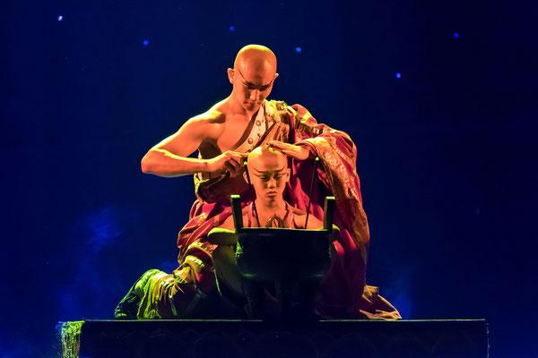 Kung-Fu-Show, Foto: Josef Beinrucker