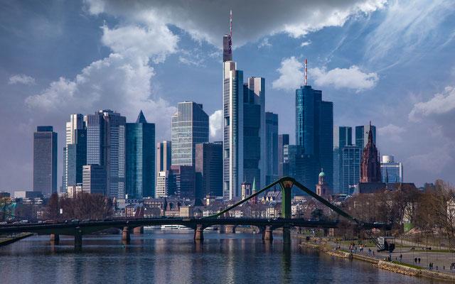 Skyline Frankfurt, Foto: Heiko Prechtl