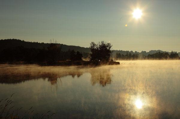 Der Tag beginnt, Foto: Reinhold Buchner