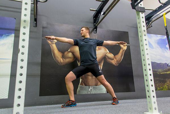 YogaMan, Foto: Bernhard Lang
