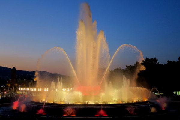 Wasserspiele, Foto: Annelies Neumann