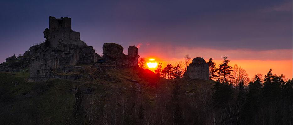 Bild 09; Sonnenuntergang, Foto: Josef Beinrucker