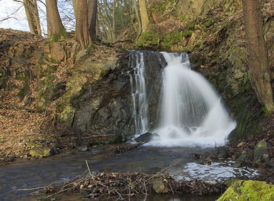 kleiner Wasserfall, Foto: Reinhold Buchner