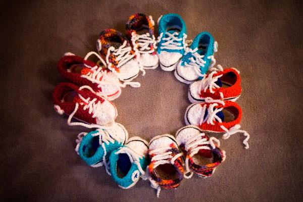Auch kleine Füße wollen schöne Schuhe, Foto: Christina Bäumler