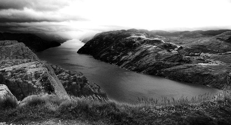 Fjord, Foto: Helmut Meier