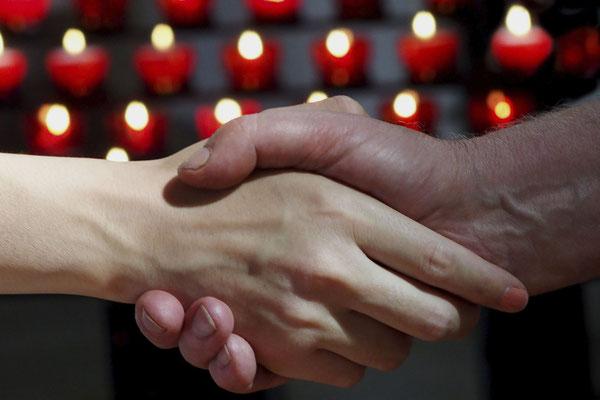 Bild 01: ... wie wir vergeben unseren Schuldigern