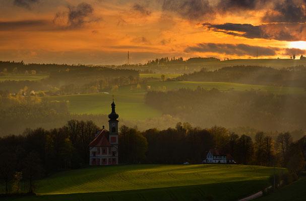 Im letzten Licht des Tages, Foto: Josef Reinricker