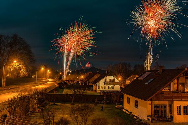Feuerwerk, Foto: Günther Klein