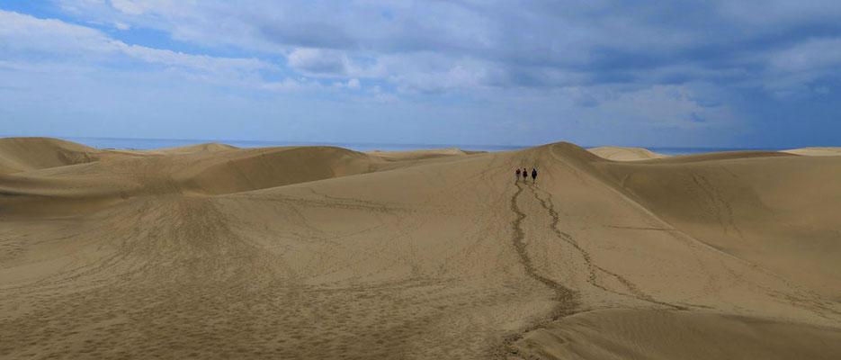 Spuren im Sand, Foto: Annelies Neumann