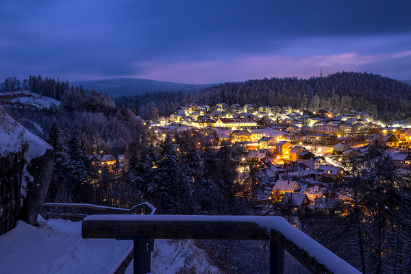 Winter in Flossenbürg, Foto: Joseph Beinrucker