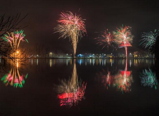Silvesterfeuerwerk, Foto: