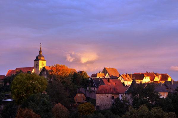 Bild 08: letztes Sonnenlicht, Foto: Uwe Kragl