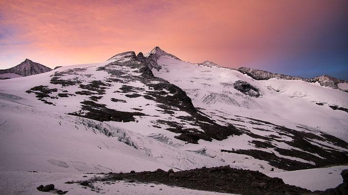 Sonnenaufgang am Großvenediger