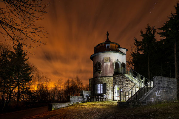 Grenzlandturm im November, Foto: Josef Beinrucker
