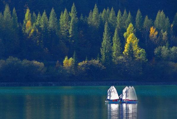 Herbsttag am See, Foto: Annelies Neumann