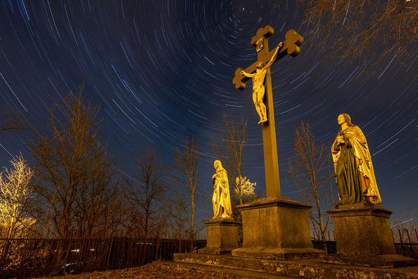 Nachts auf dem Parkstein, Foto: Josef Beinrucker