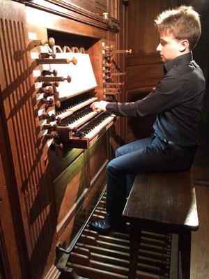Pierre-François démarre l'audition.