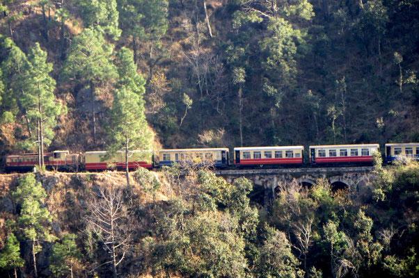Toy Train nach Shimla - Indien