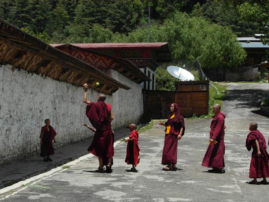 Mönche - Bhutan
