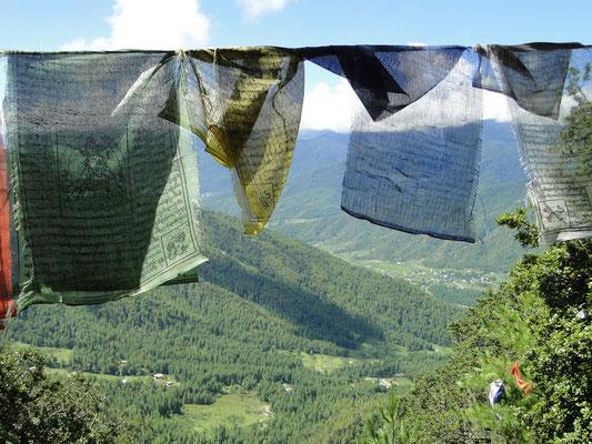 Gebetsfahnen - Bhutan