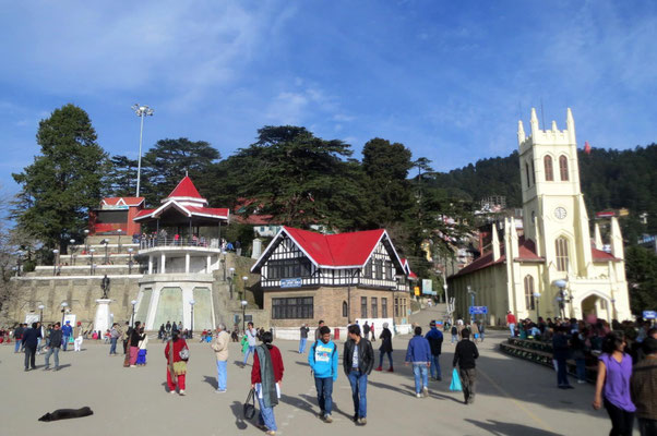 The Mall - Shimla - Indien