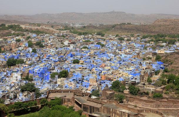 Blick auf Jodhpur - Rajasthan - Indien