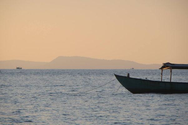 Meer vor Sihanoukville - Kambodscha
