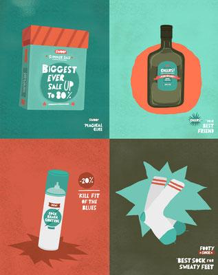 "Illustrations ""Products b""."