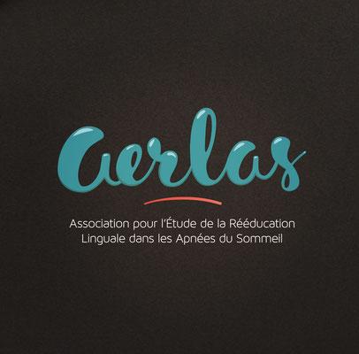 Conception logotype, association Aerlas (Montpellier).