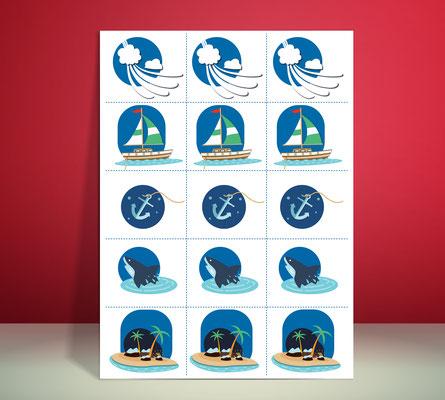 """Détails illustrations Séminaire """"Design Thinking, Grt Gaz (Bois Colombes)."""