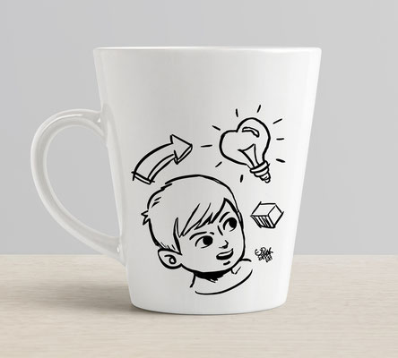 Conception illustrations, mug Spread shirt (Accessoires personnalisés).