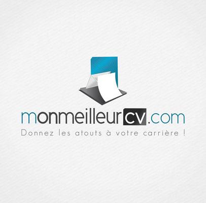 Conception logotype Mon meilleur cv.com.