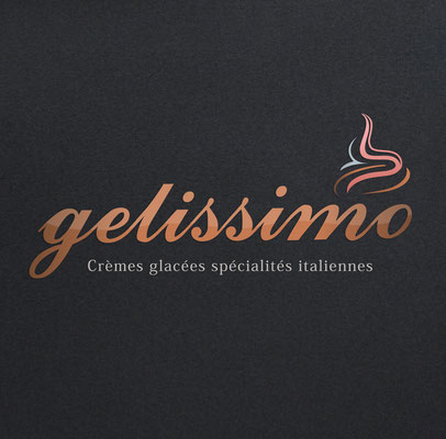 Conception logotype Gelissimo.