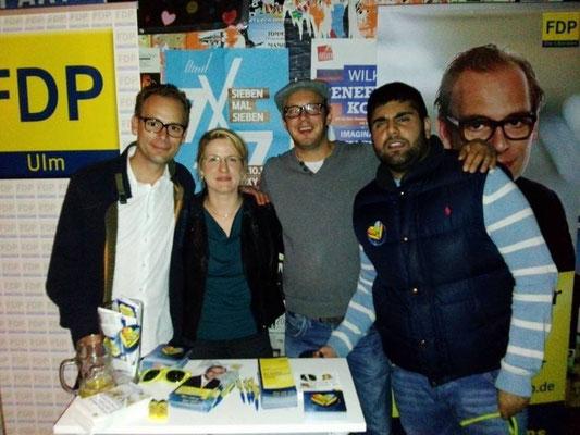 Jugendwahlkampf im Roxy