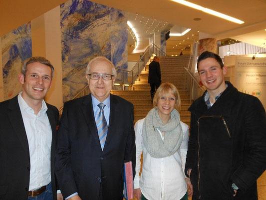 Mit Rainer Brüderle beim Parteitag