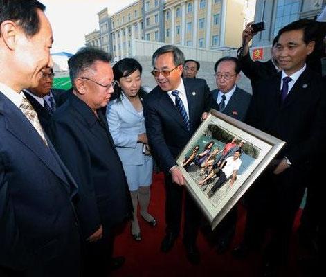 Kim Jong-Il looking at us ;-)
