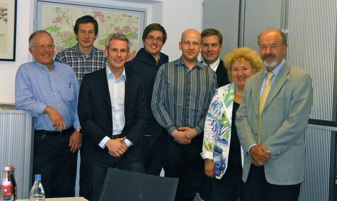 Besuch im Rathaus bei der FDP-Fraktion