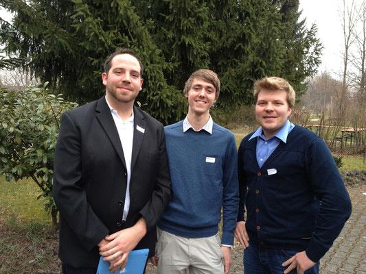 Die Biberacher mit den JuLi-Landesvorsitzenden Sebastian Gratz