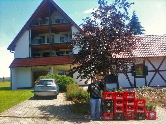 Hütte mit den Landes-JuLis