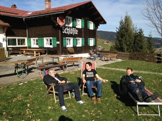 Herbsthütte im Kleinwalsertal