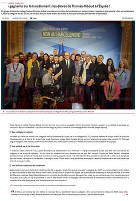 Article Le Progrès du 9/04/2017