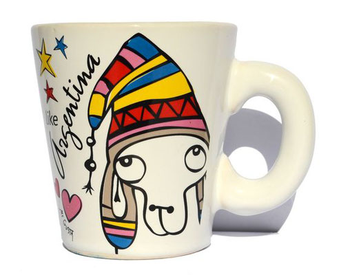 Estampado de mug conico