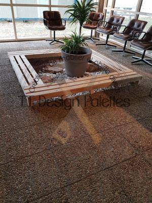 Aménagement d'un espace de détente pour les Salarié d'une usine (Sarras 07)