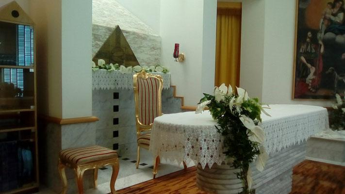 Chiesa di San Rocco addobbo