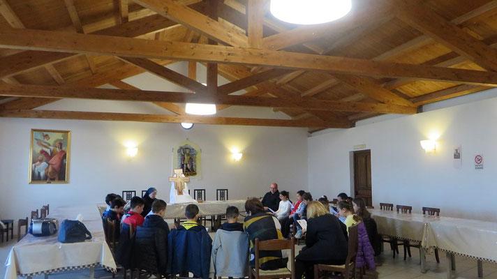 Catechesi presso Santuario di San Michele