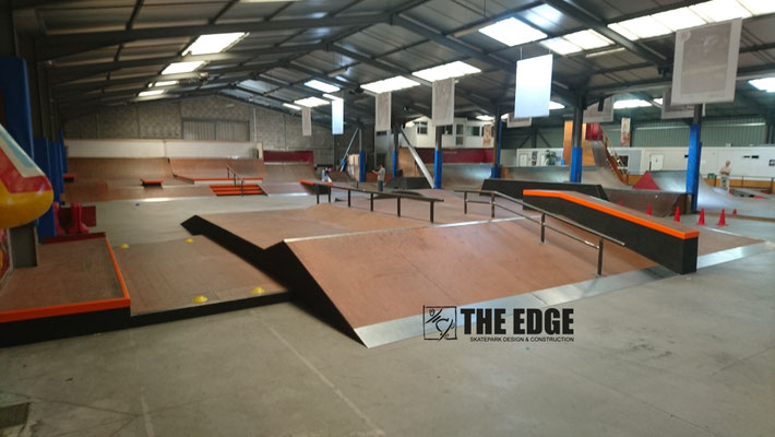 THE EDGE Skateaprk Design & Construction - Skatepark Le Hangar Nantes