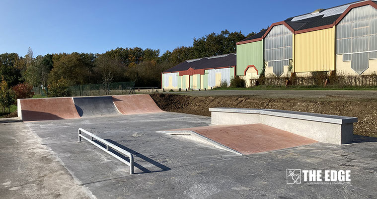 THE EDGE Skatepark Vezin le Coquet