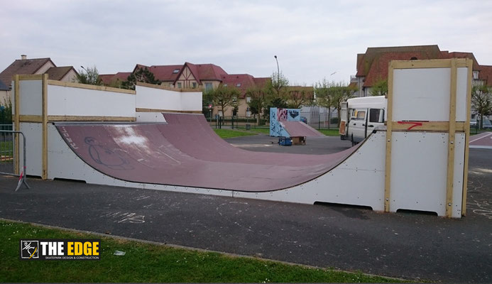 THE EDGE - Skatepark Design & Contruction - Micro Rampe Courseulles sur Mer